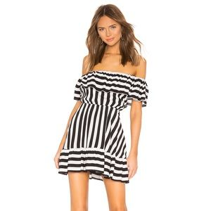 Lovers and Friends Rue striped dress